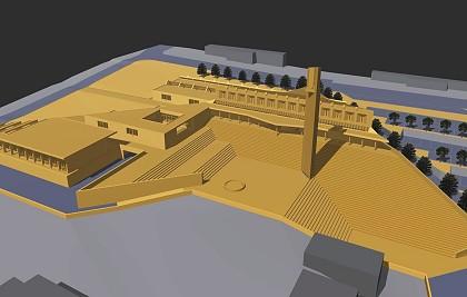 Concorso a invito per la progettazione di massima del complesso parrocchiale di Chiugiana-Olmo-Fontana  (Perugia).