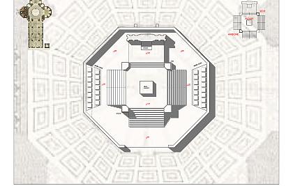 proposta progettuale per un nuovo assetto architettonico e liturgico del presbiterio della Cattedrale di Santa Maria del Fiore (Firenze).