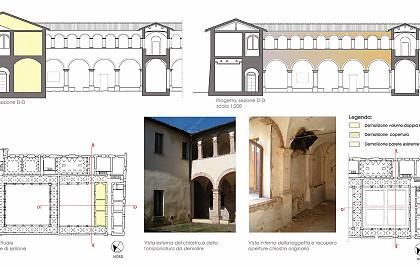 Concorso di idee per l'affidamento di incarico professionale relativo al restauro e recupero del convento di Santa Maria degli Angeli (Comune di Brisighella)