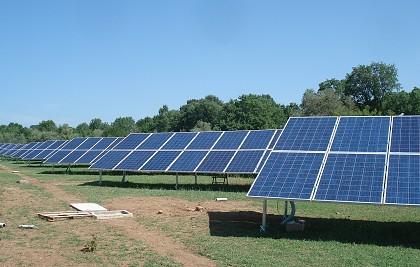 Intervento di realizzazione di impianto fotovoltaico a terra di potenza pari a 96 kwp <br /> Committente: EnergiaZeroCO2<br /> Comune di Graffignano (Viterbo) <br /> Prestazione: consulenza tecnica, direzione lavori