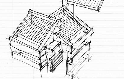 Realizzazione di edificio residenziale quadri-familiare<br /> Comune di Foligno (PG) <br /> Committente: società di costruzioni<br /> Prestazione professionale: progettazione architettonica, direzione lavori