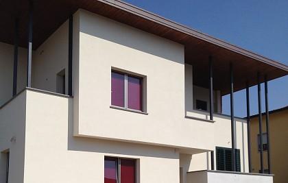 Intervento di ristrutturazione totale di edificio residenziale privato<br /> Comune di Bastia Umbra (PG) <br /> Committente: privato<br /> Prestazione professionale: progettazione architettonica, strutturale, impiantistica, direzione lavori, coordinamento per la sicurezza