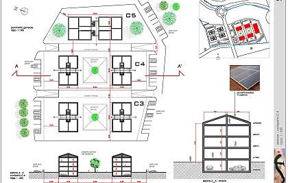 Piano di studio dell'area C-3A in località Focene<br /> Comune di Fiumicino (Roma) <br /> Committente: privato<br /> Prestazione professionale: rilievi, variante al piano regolatore, piano di lottizzazione, proposte progettuali planovolumetriche